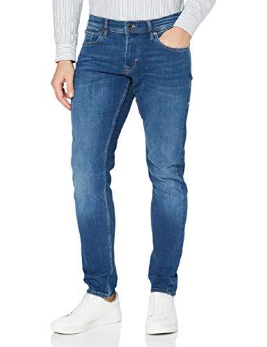 Esprit Herren 999EE2B803 Slim Jeans, 902/BLUE MEDIUM WASH, 31W / 30L