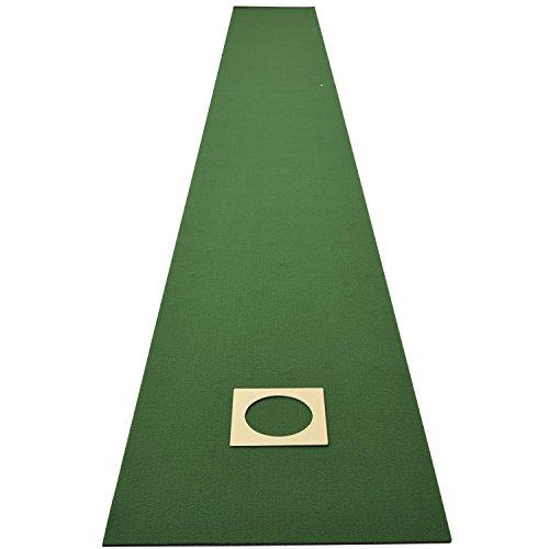 De Yamazen (Yamazen) pat Matt Golf Met de putter ƒ} ƒcƒg 45cmx4-m (made in Japan) gat beker voor golf practice Flipside slippen specificatie WGPM4540 (GR)