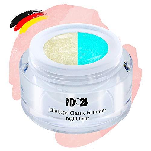 Uv Led Effekt-Gel Night Light - Nachtleuchtend - Studio Qualität - Made In Germany - 5ml
