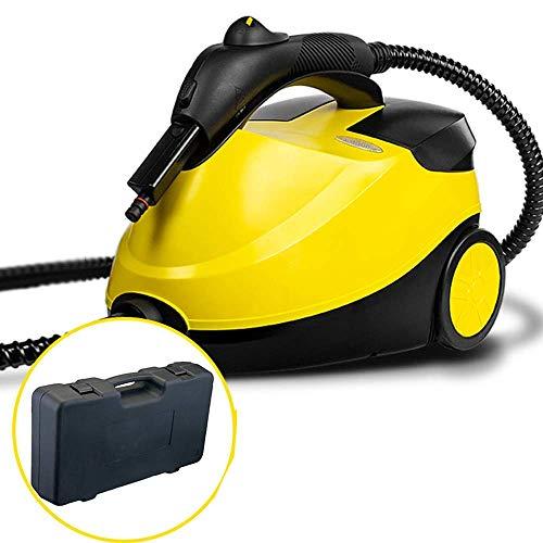 Dampfreiniger - Multifunktions-Hochdruck-Dampfreinigungsauto/Innenbereich Einfach zu bedienen/Tragbarer Sterilisator Mehrere Zubehörteile 220 V 1500 ml Maschine + Zubehör + Box xinqing