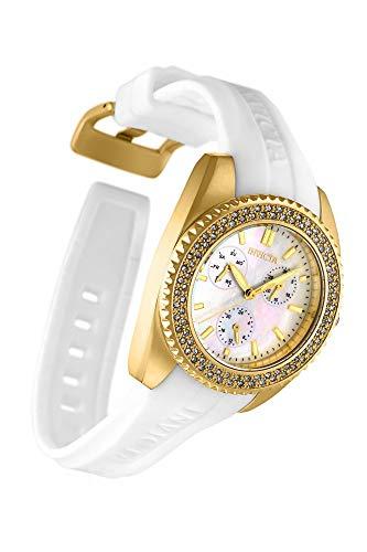 Invicta Reloj Analógico para Mujer de Cuarzo con Correa en Silicona 28488