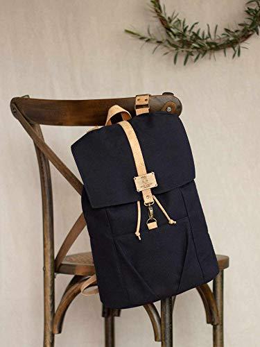 Vegan Backpack, Rucksack Vegan, Unisex backpack, Fabric backpack, Handmade Backpack, Cotton Backpack, Laptop backpack,Recycled Backpack