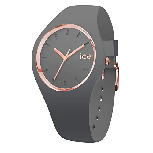Ice-Watch - ICE glam colour Grey - Orologio grigio da Donna con Cinturino in silicone - 015336 (Medium)