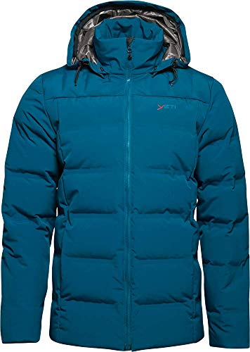 YETI Akkarvik M's Bonded Down Jacket Herren Daunenjacke Jacke, Arctic Night, Größe XL