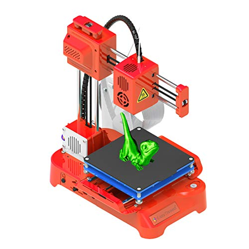 Aibecy Kids Mini Desktop 3D Printer, EasyThreed 3D Printer for Kids 100x100x100mm Print Size No Heated Bed One-Key Printing with TF Card PLA Sample Filament for Beginners Household Education