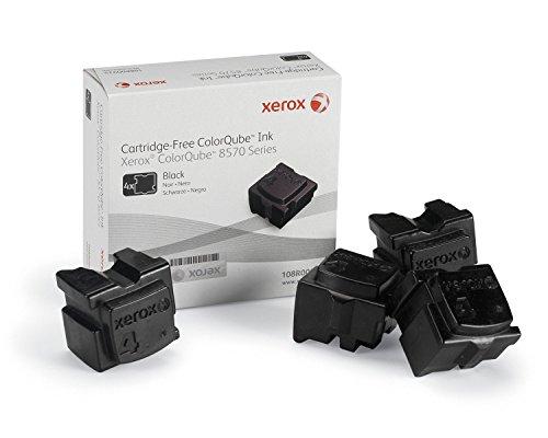 Xerox 108R00935 8570 ColorQube Standardkapazität 4 x 2.150 Seiten 4er-Pack, schwarz