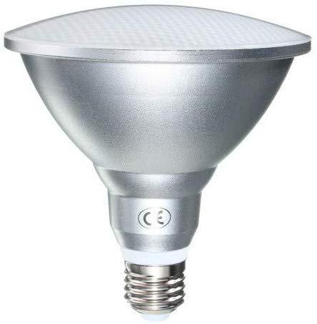 LED-PAR38 Strahler E27 18W Warmweiß 3000K, IP65 Außenlampe, 1500LM, Ersetzt Halogenstrahler 150W, 120 Grad, Nicht Dimmbar, E27 PAR38 LED für Außenbeleuchtung Gartenhaus Wandlampe, 1er-Set