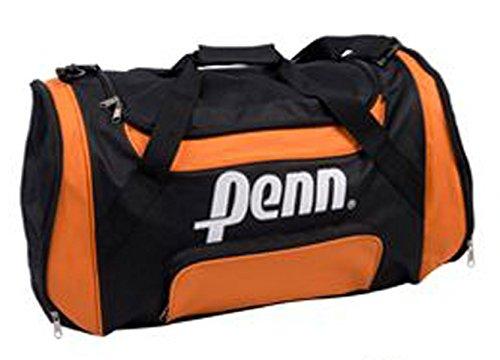 Colore Penn nero-arancio Duffle Bag sportivo Sport donne Fitness uomo bambini Sport calcio tempo libero Fa, Bowatex