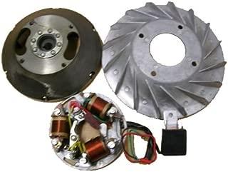 Vespa Stator Plate & Flywheel/Bajaj Zündung Polrad 6V-5 Kabel Vespa VNB, VBB, VBA,