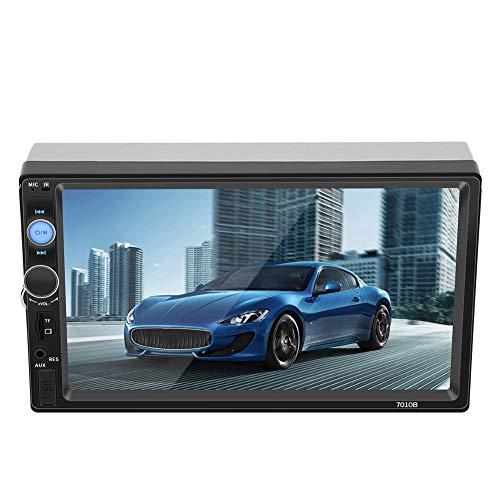 Videospeler voor auto, 7 inch touchscreen HD Bluetooth U harde schijf AUX radio auto MP5-speler met telefoonaansluiting, HD-videoweergave, breed scala aan toepassingen