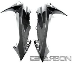 Tekarbon, Carbon Fiber Front Side Fairings, for Suzuki GSXR 600/750 (2011-2018), 1x1 Plain Weave