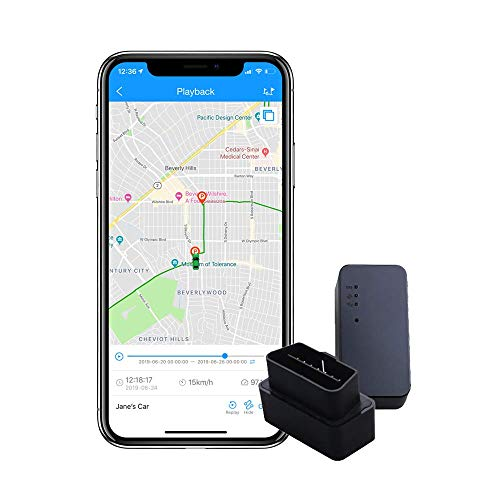 ShieldGPS Hidden GPS Tracker for Cars & Vehicles - OBDII Device for Tracking, Anti Theft and Surveillance