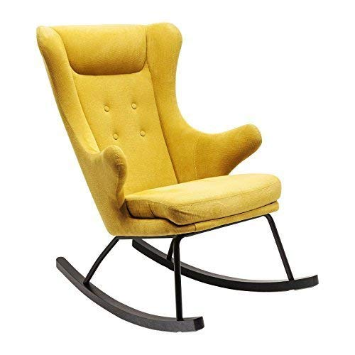 Kare Design Schaukelsessel Fjord, farbenfroher Sessel mit Funktion, Fernsehsessel zum wippen, (H/B/T) 106x72x105cm