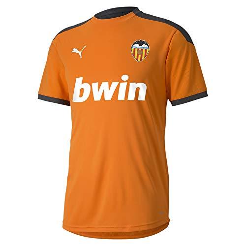 PUMA Valencia CF Temporada 2020/21-Training Jersey Vibrant Orange-Aspha Camiseta, Unisex, Naranja, XL