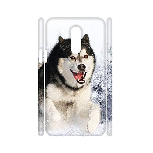 para Los Hombres Teléfono Shell Abs Compatible con One Plus 7Pro Único Tener Siberian Husky 5