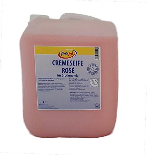 Handseife/Cremeseife rose, 10L Kanister, für den preisbewussten Anwender