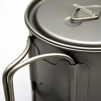 TOAKS LIGHT Titanium 550ml Pot by TOAKS