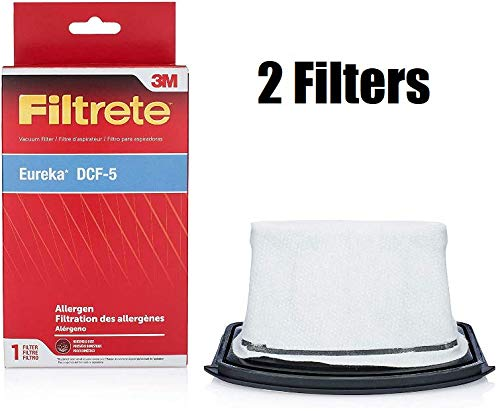 Pokin 2 Filter 3M Allergen 67230 Replacement Style DCF-5 for Eureka