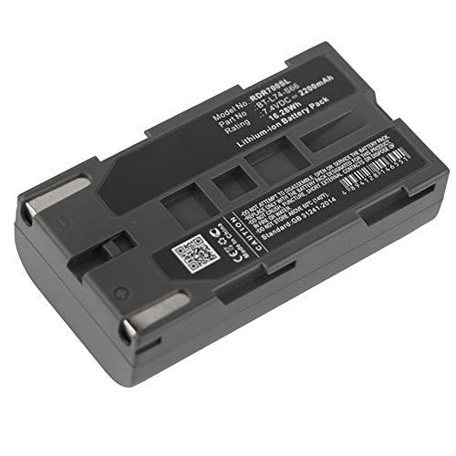 subtel® Batería Premium Compatible con Kolida GPS Gnss K9 GPS Gnss K9E GPS Gnss K9T GPS Gnss K9TX GPS K7 Pin GPS Sanding L7402W, BTKD-L7402W 2200mAh Pila Repuesto bateria