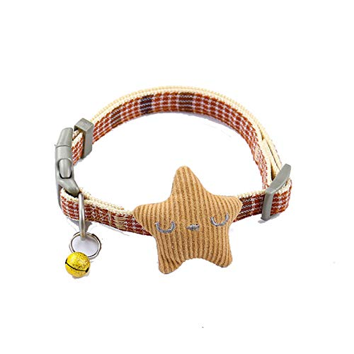 MLHO Dog Traction Chest And Back Cute Traction Suit Pet Harness S Turmeric-Collar