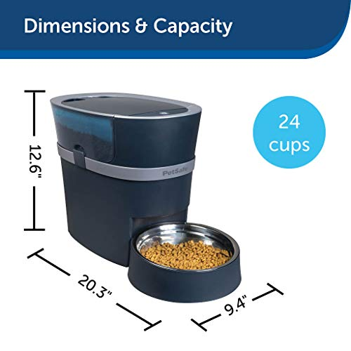 PetSafe Smart Feed Automatic Dog and Cat Feeder,...