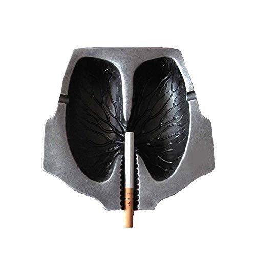 Resina ceniceros for los Cigarrillos, Creativo pulmones Forma Cenicero, Ash Soporte for los Fumadores, Fumadores Personalizada Bandeja de Ceniza cesación for Novio Regalos de cumpleaños Padre