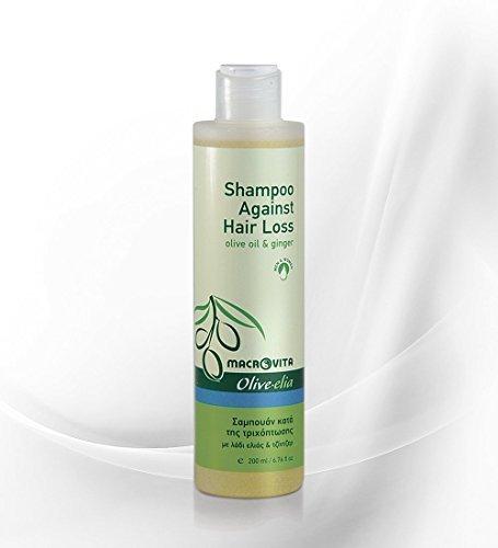OLIVELIA SHAMPOO AGAINST HAIR LOSS OLIVE OIL & GINGER FOR MEN & WOMEN 200 ML.