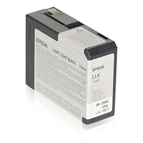 Epson C13T580900 cartucho de tinta negra claro para Stylus Pro 3800/3880/3880 Designer Edition