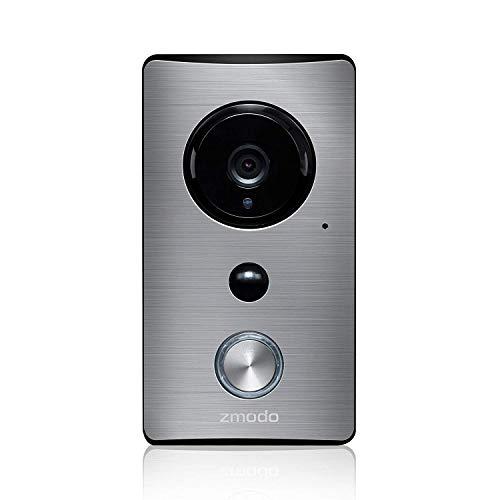 AUNEX Video Wireless Doorbell, Black