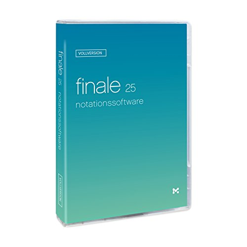 Finale 25 Vollversion - Notationsprogramm Deutsch
