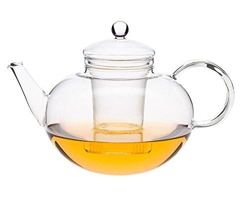 Trendglas Jena Teekanne Miko im klassischen Design mit Glassieb, 2 L
