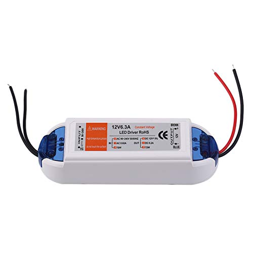 18W/28W/48W/72W/100W Power Supply DC 12v LED Driver Adapter Transformer Switch,white,72W
