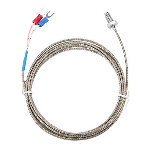 Cable del sensor de temperatura, M6 BSW Sonda de medición