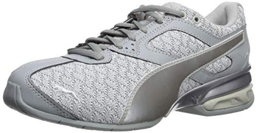 Puma Women's Tazon 6 Luxe Grey Violet/Quarry Silver Ankle-High Fashion Sneaker - 5.5M