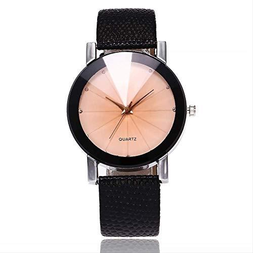 LMDZSW Vansvar Frauen Uhr Marke Casual Einfache Quarzuhr Für Frauen Lederarmband Armband Uhr Reloj Mujer Drop Versand schwarz weiß