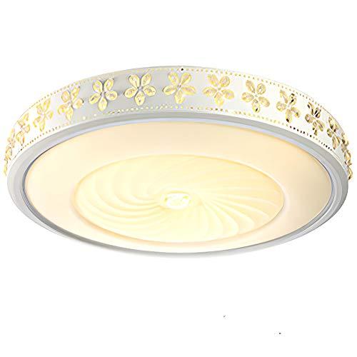 Plafondlamp, bloemvorm eenvoud moderne kunst kristallen creatieve verlichting luxe plafond vlekken helderheid verstelbare keuken slaapkamer woonkamer balkon mat wit