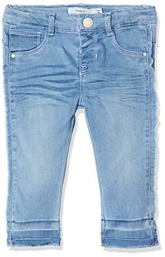 NAME IT Baby-Mädchen NBFSALLI DNMTORA 1312 Pant NOOS Jeans, Blau (Light Blue Denim Light Blue Denim), (Herstellergröße: 80)