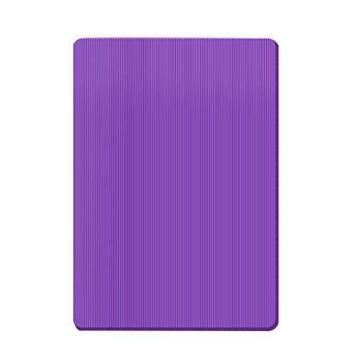 Estera de Yoga Yoga Mat TPE 1/2 Pulgadas for no Slip Mats de Yoga con la Bola de Yoga y fácil de cincha Yoga Mat Carrier Correa for el Yoga, Pilates y Fitness Pilates Yoga Mat (Color : Purple)