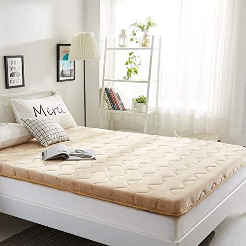 FF Dicke Matratze Topper, Faltbare Tatami Bodenmatte Queen-King Schlafsaal Isomatte japanische traditionelle Futo Bodenmatratze Pad-b2 180x200cm (71x79inch)