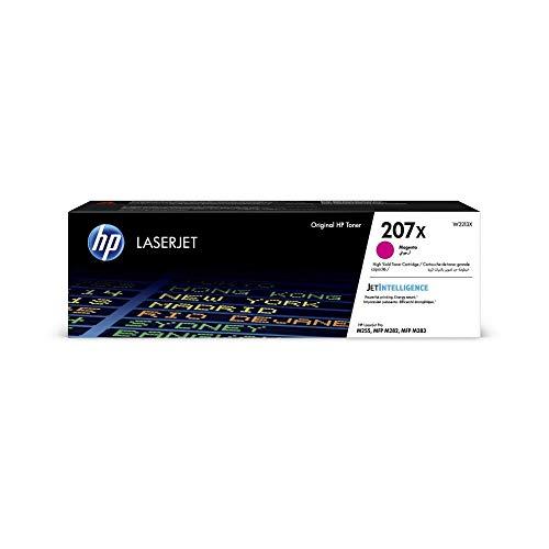HP 207X (W2213X) Magenta Original Toner mit hoher Reichweite für HP Color LaserJet Pro M283 / M282 / M255