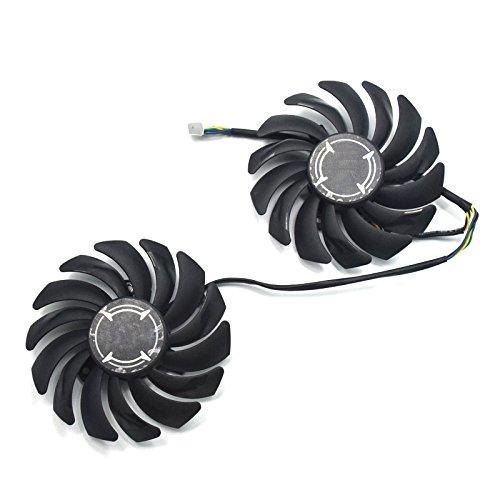 Repuesto de Ventilador de refrigeración para Tarjeta de Video con rodamiento de Bolas de 85 mm PLD09210B12HH para MSI RX 470/570/580/570 Armor Tarjeta gráfica