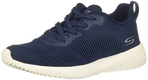 Skechers, Bobs Squad-Tough Talk - Sneakers da donna, Blu (Marina Militare), 42 EU