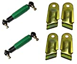 FKAnhängerteile 2 amortiguadores de eje AL-KO Octagon verde