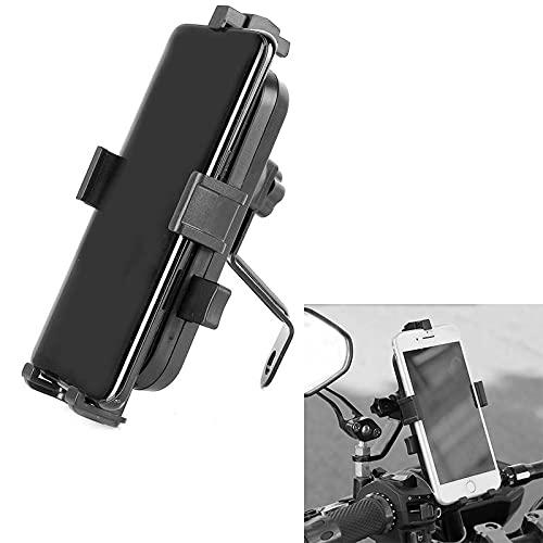 Mobilhållare till MC Moped, Universell Fästs på Backspegel