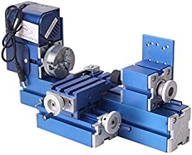 Hengwei Mini Motorized Lathe Machine 24W DIY Tool Metal Woodworking Hobby Modelmaking For..
