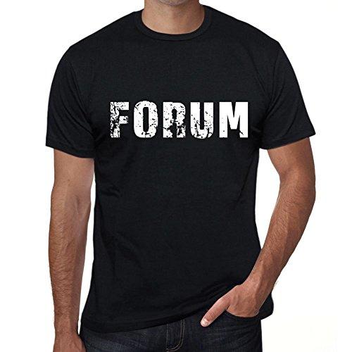 One in the City Forum Hombre Camiseta Negro Regalo De Cumpleaños 00553
