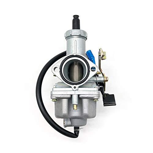 ZLDDE Carburador, Motor Carburador PZ30 modificación for VM26 Carb carburador en Forma for el ATV Bici de la Suciedad de 150cc 160cc 200cc 250cc para Motor de cortacésped. (Color : Silver)