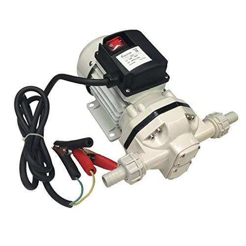 Wolflube Electric DEF Pump 12V / 9 GPM/PNM-552012/200-W/Amp.-10A / RPM-2600 / Self-Priming Heavy Duty Pump, Ideal for DEF/UREA Fuel Transfer