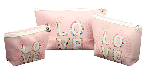 Kosmetiktasche Lifestyle 3er Set Love