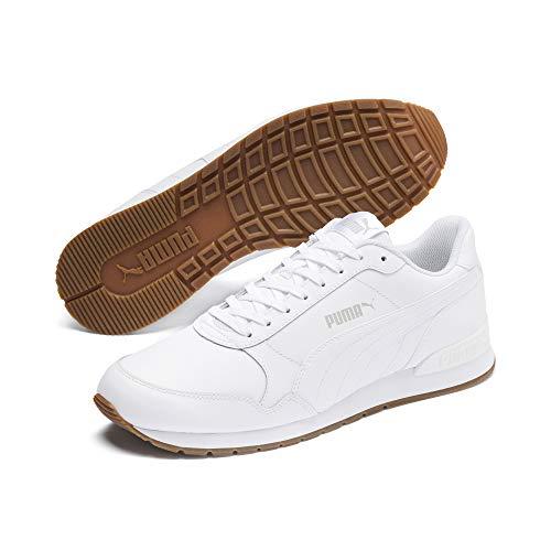 PUMA ST Runner v2 Full L, Zapatillas de Running Unisex Adulto, Blanco White-Gray Violet, 46 EU